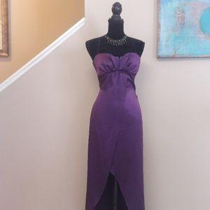 Elie Tahari Dresses - Elie Tahari/Purple/ Silk/ Maxi Dress